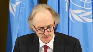 المبعوث الأممي لسوريا يزور موسكو ودمشق الأسبوع المقبل