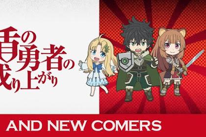 Karakter Tate no Yuusha Menjadi Bintang Tamu Dalam Anime Isekai Quartet Season 2