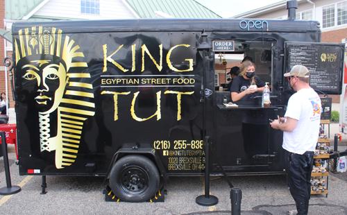 King Tut Egyptian Food Truck