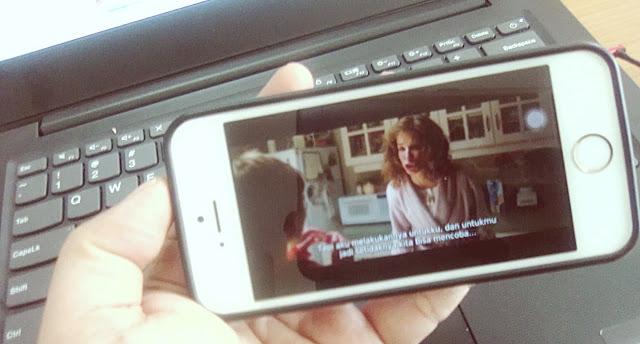 Cara Menonton Film Dengan Subtitles SRT di Iphone