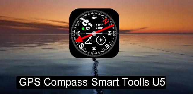 تنزيل DIGITAL COMPASS GPS SMART TOOLS1.4  تطبيق البوصلة الذكية لنظام الاندرويد