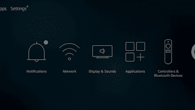 1. First, open  setting  from the main menu
