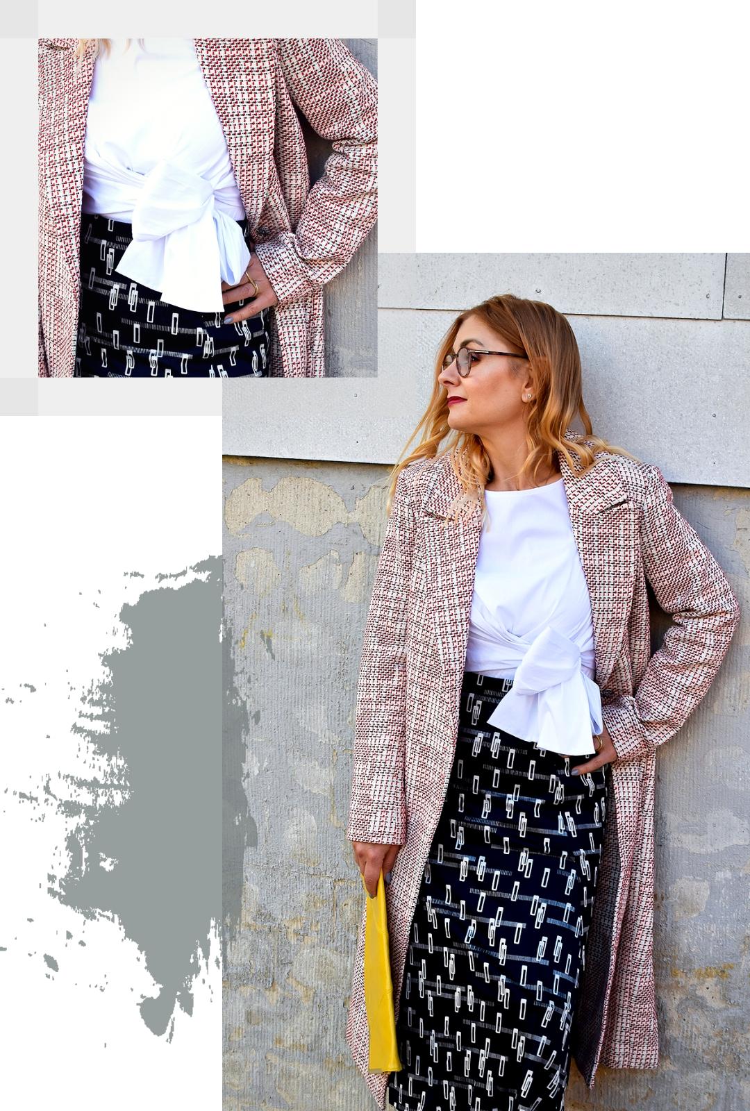 wie kombiniere ich verschiedene Muster? Modetipps für Frauen ab 40