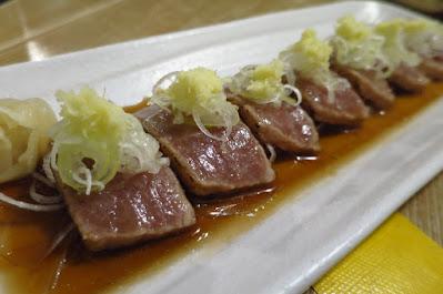 Miz Japanese Restaurant, aburi otoro