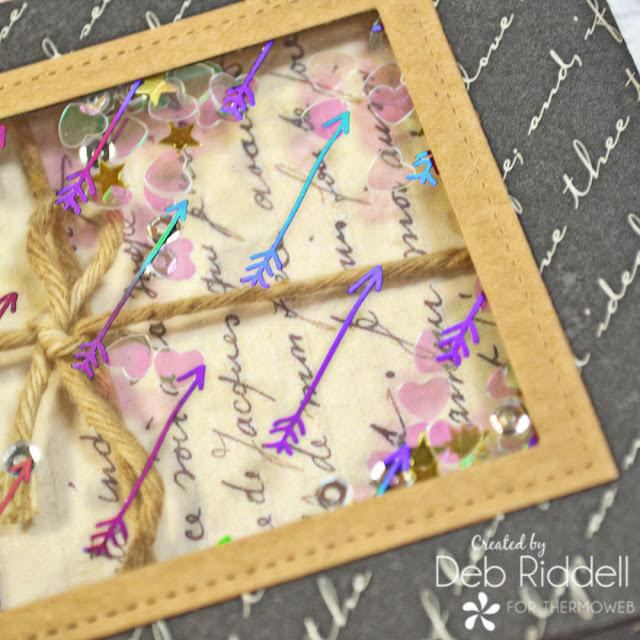 Love Letters Shaker Box Detail