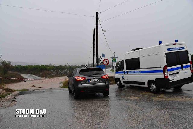 Διακοπή κυκλοφορίας σε ρέματα του Δήμου Ναυπλιέων