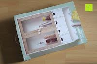 Verpackung: Küchenschrank Wandschrank Hängeschrank 4 Haken 4 Schubladen 2 Glastüren Schrank