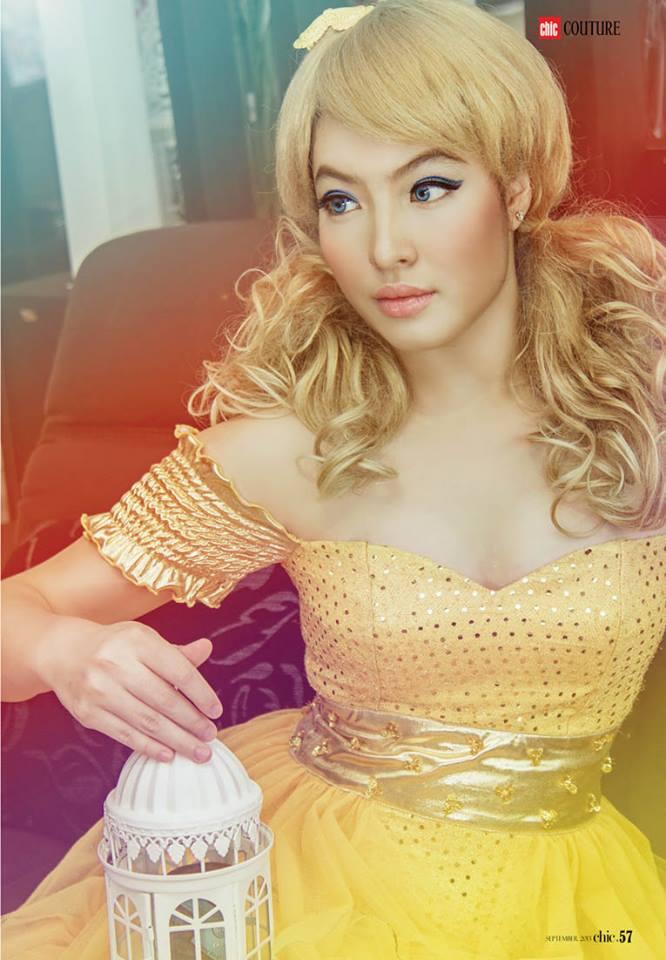 Khin Myint Zu Khine - Myanmar Model Girls