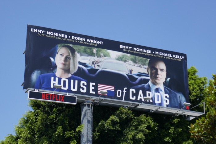 House of Cards final season Emmy nominations billboard