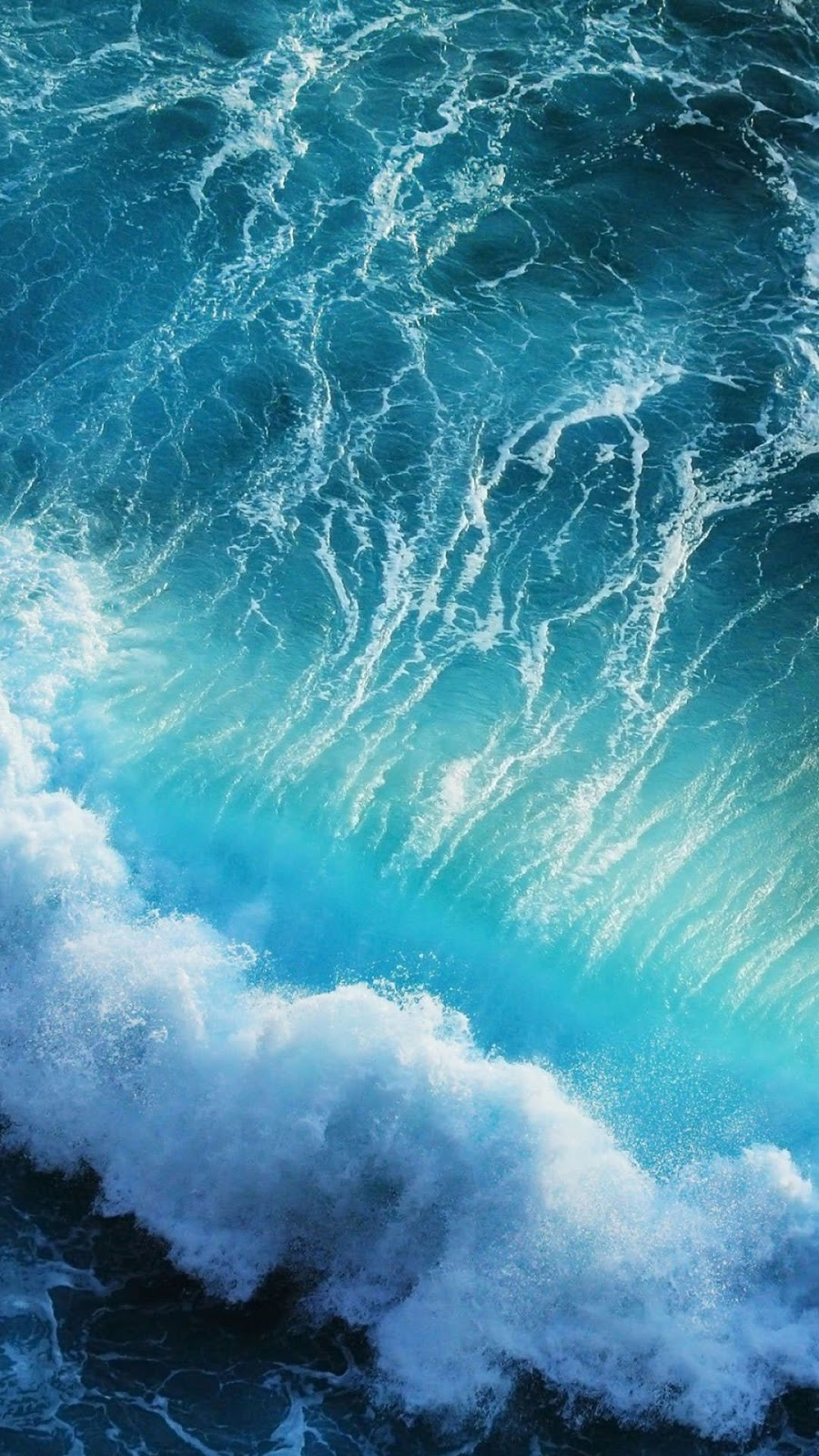 sea wave iphone x 4k wallpapers