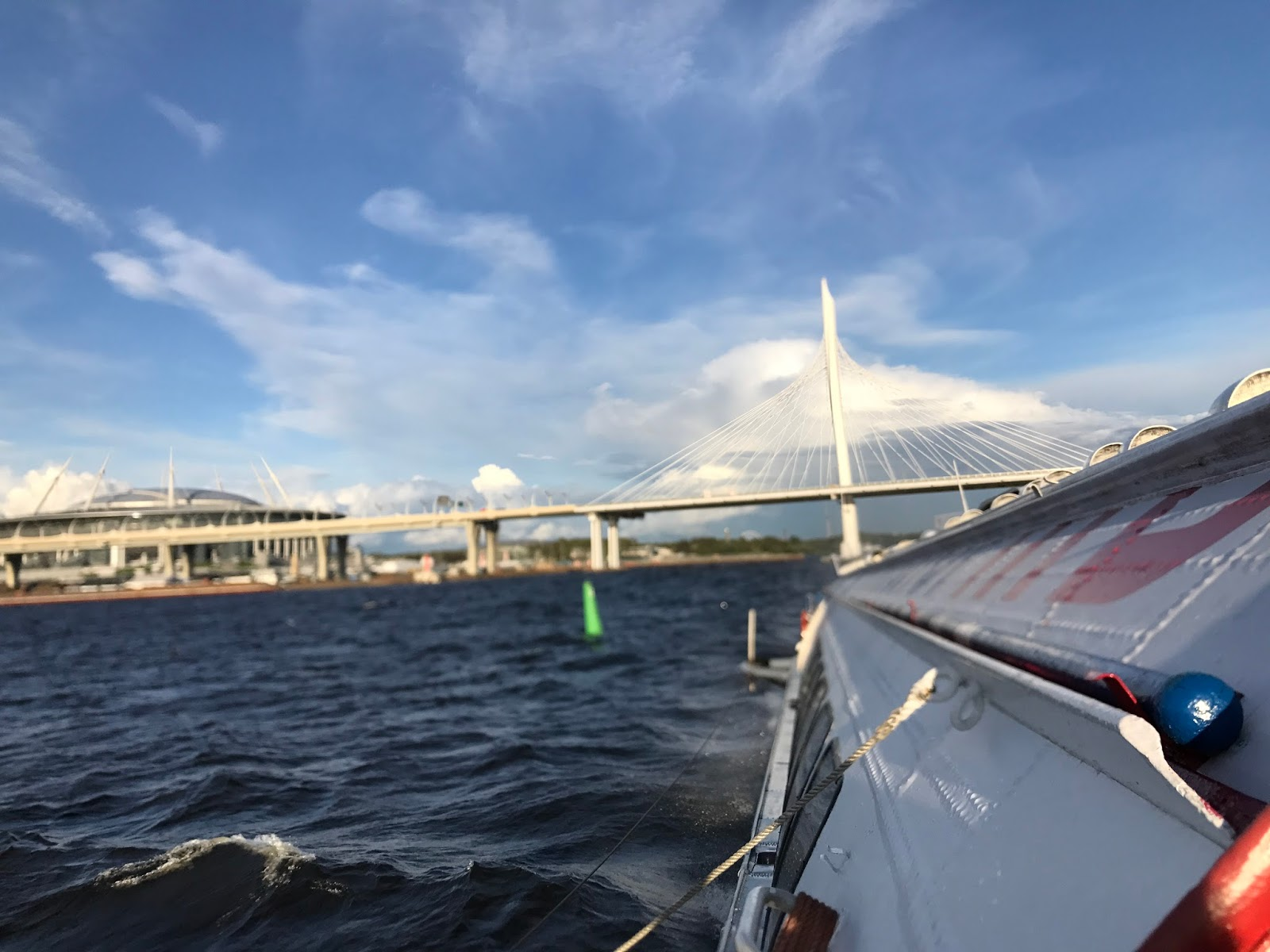 Hydrofoil para o Peterhof