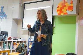 Foto da professora Teresa Mendes