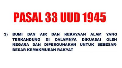 Tere Liye: Hapus Saja Pasal 33 UUD45 Gak Ada Gunanya Lagi, Lihat Reklamasi Siapa yang Menikmati?