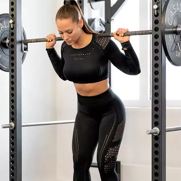 High Waist Seamless Gym Legging