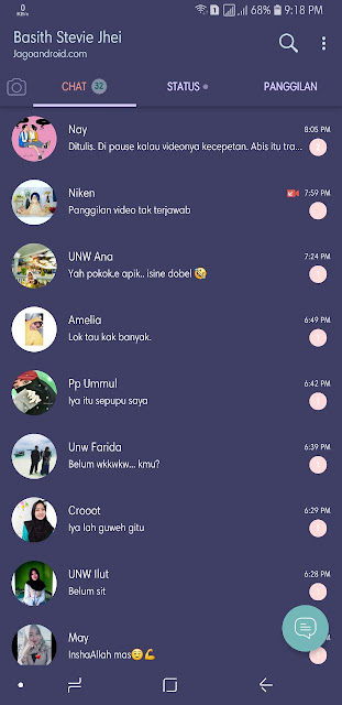 Download Whatsapp Mod Theme Iphone Ios 11 For Android Terbaru 2018