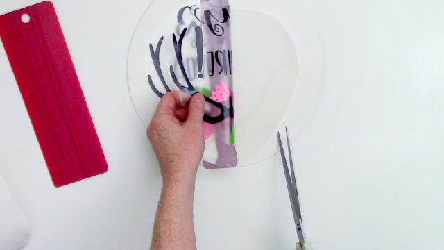 wood signs, adhesive vinyl, transfer tape, silhouette cameo, hinge method