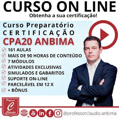 Curso Online CPA 20 - PREPARATÓRIO ANBIMA