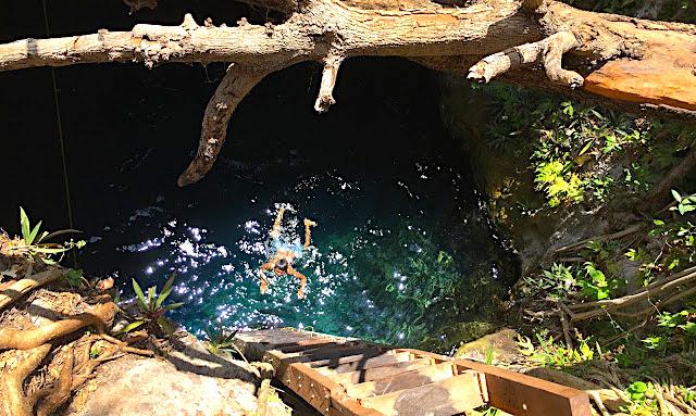 Cenotes d'Homun, Mérida, Yucatan, Mexique