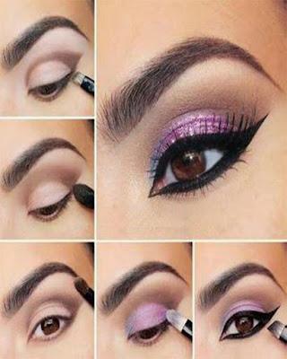 Maquillaje de ojos de DÍA paso a paso que estan de moda