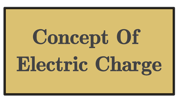 Electric charge concept