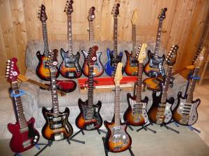 Craigslist Vintage Guitar Hunt Teisco Guitar Collection In Milwaukee Wi