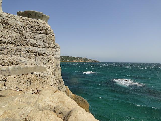 Vistas desde el bunquer de Zahara de los Atunes