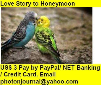 Love Story to Honeymoon love package hotel room honeymoon