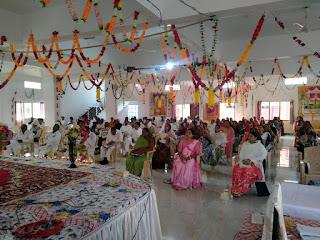 आत्म दीप (ज्योति) जगा कर दीपावली के पावन पर्व पर ज्ञान संगोष्ठी सभा का आयोजन ब्रह्माकुमारी आश्रम में किया गया