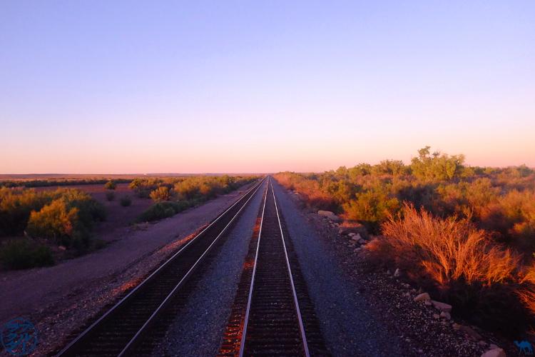 Le Chameau Bleu - Blog Voyage Los Angeles - Southwest Chief train - Vue du train