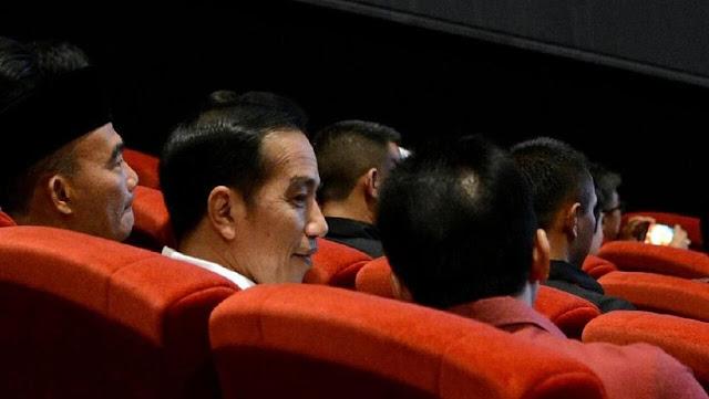 Kampanye Terselubung Jokowi di Bioskop Jadi Bukti Gugatan Kecurangan TSM di MK