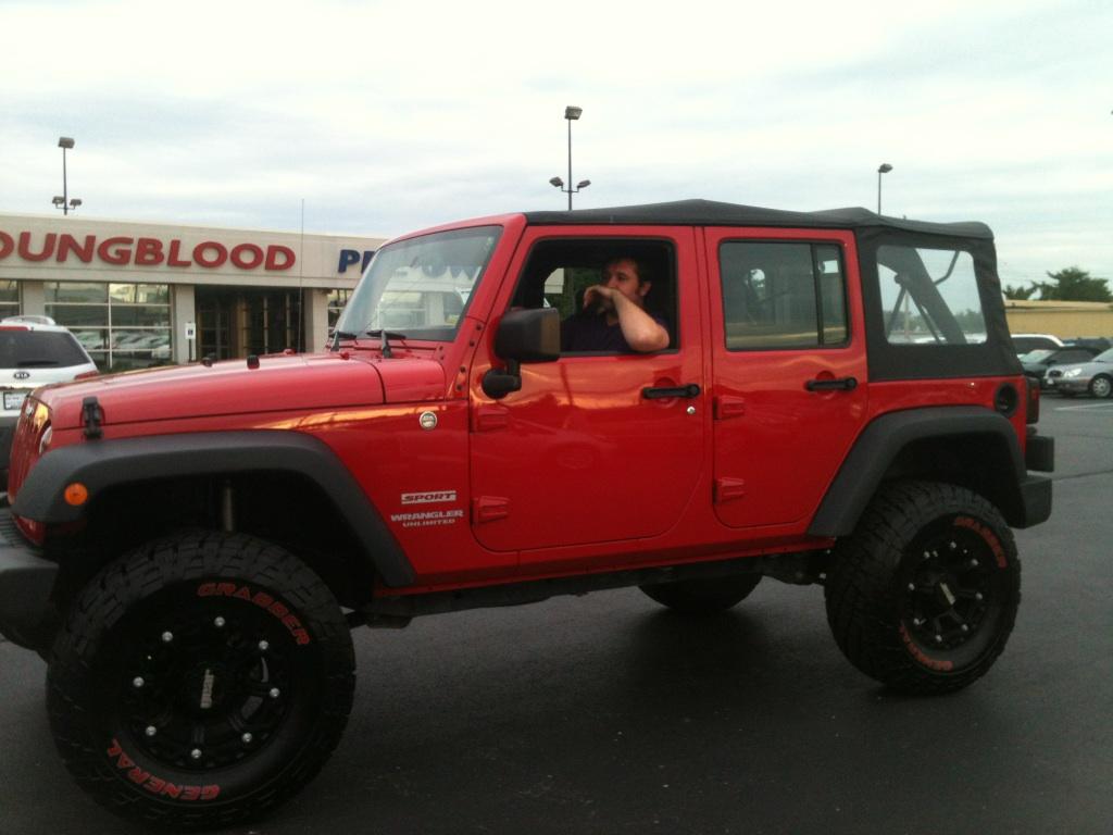 My Jeep Wrangler Jk