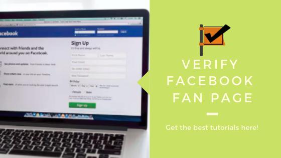 How Do You Verify A Facebook Page<br/>