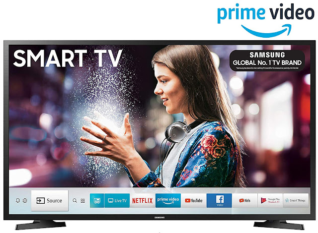 Samsung 80 cm (32 Inches) Series 4 HD Ready LED Smart TV