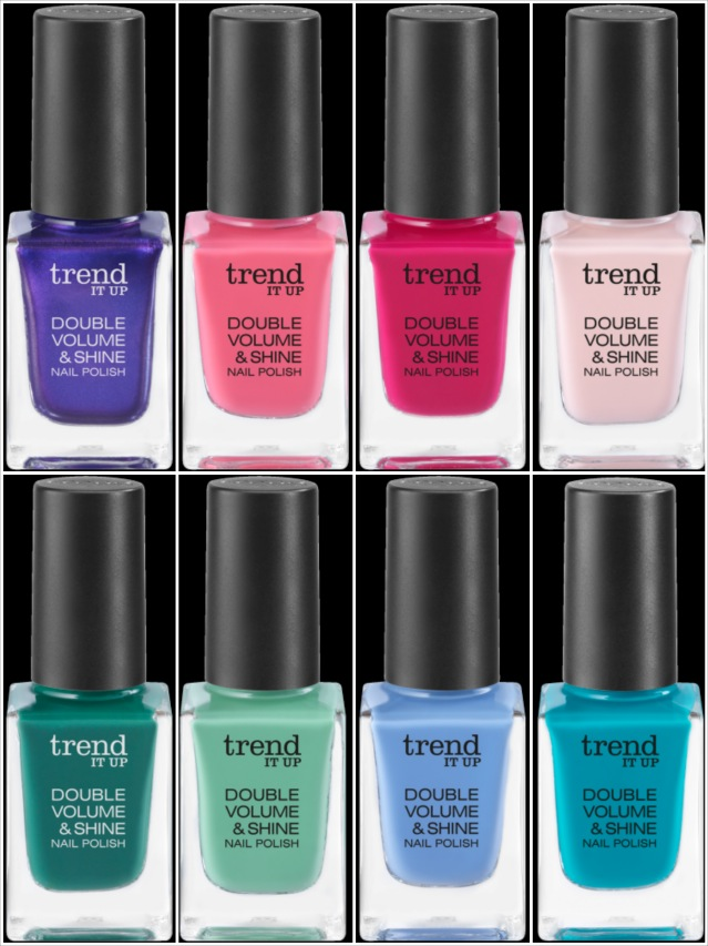 Die neuen trend IT UP, Double Volume Shine, neue Farben