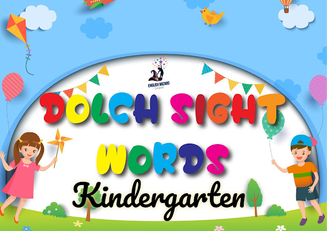 Dolch Kindergarteners Basic Sight Words
