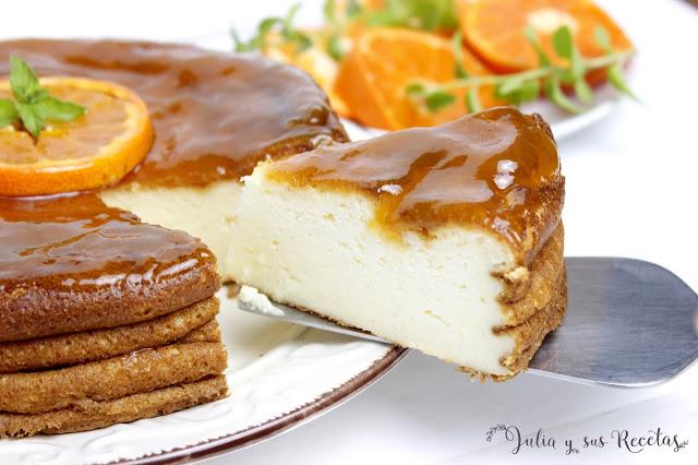 Pastel turco de yogur griego. Julia y sus recetas