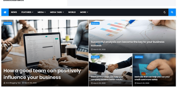 Jannify Responsive Blogger Template Free Download