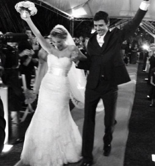 Nati vozza e antonio casamento