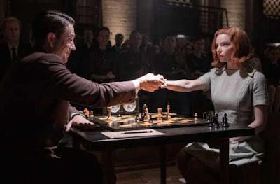 Le redoutable champion du monde d'échecs Borgov, l'imbattable russe que Beth tente de vaincre tout au long des sept épisodes