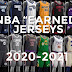 NBA 2K21 COMPLETE OFFICIAL 20-21 EARNED JERSEY