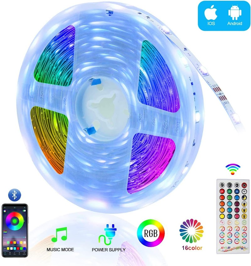 50% off  for Bluetooth LED Strip Lights