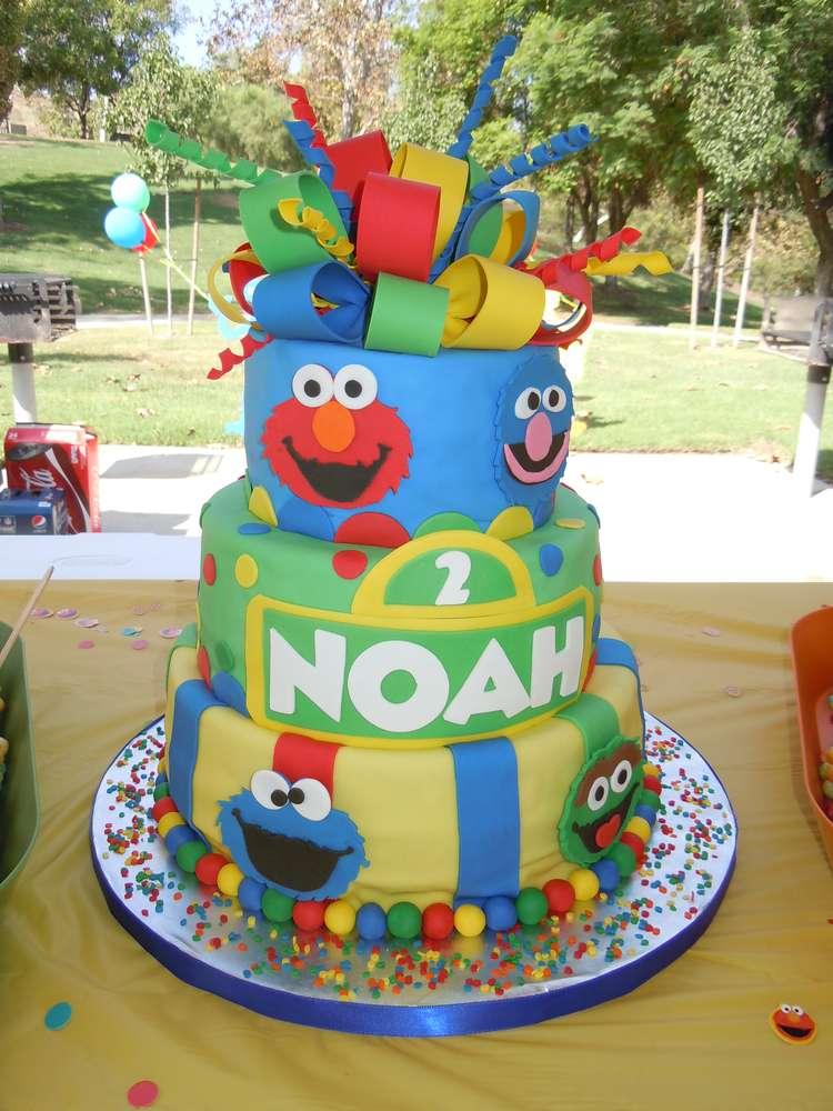 Southern Blue Celebrations Sesame Street Cake Ideas