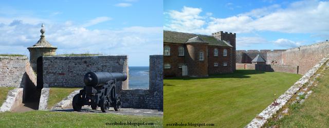 Viaje a Escocia: día 4 Vistas de Fort George
