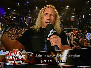 WWE / WWF Judgement Day 2001 - Jerry Lynn: Your Light Heavyweight Champion