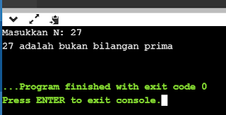 program penentu bilangan prima bahasa python