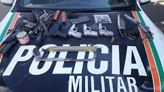 PM invade e fecha fábrica clandestina de armas de fogo no Ceará