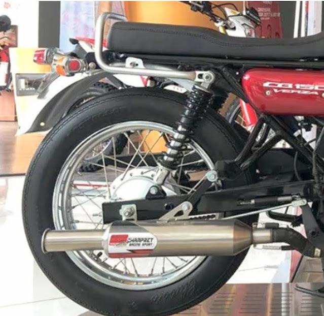 Tampilan Knalpot custom Cb150