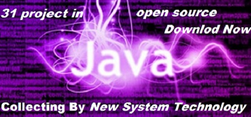 31 Open Source Java Project web-based and Desktop Application - New