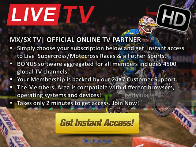 Watch Monster Energy AMA Supercross Race 4 Oakland Live