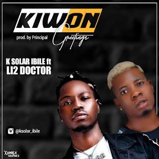 K SOLAR IBILE FT LI2 DOCTOR - KIWON (GREETINGS)
